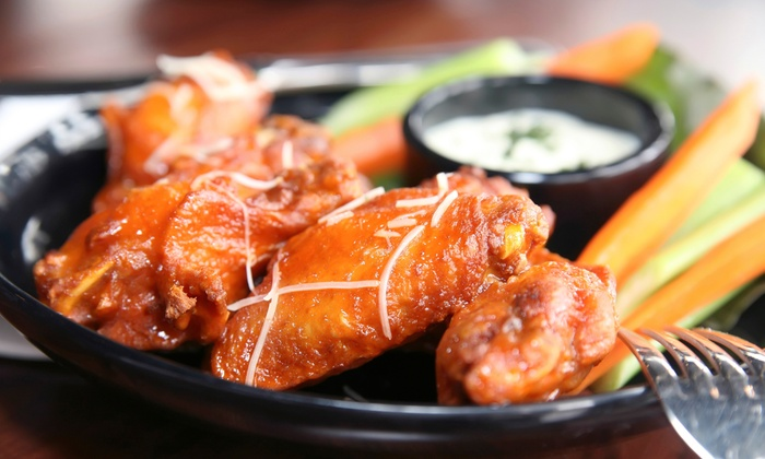 Spitfire's On State - Wick Field: Wings and Burgers at Spitfire's On State (Half Off). Two Options Available.