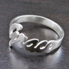 73% Off Personalized Silver Ring
