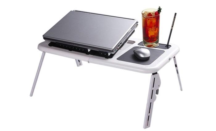 Laptop Tafel Bank : Verstelbare laptoptafel groupon goods