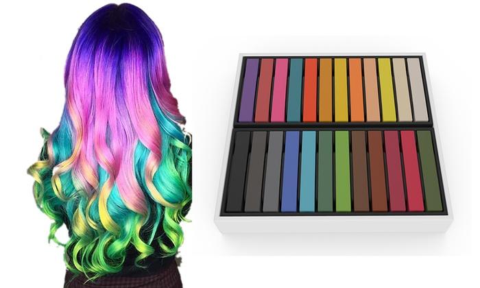 24 o 48 gessetti colore capelli