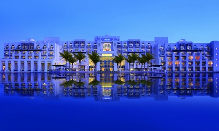 Abu Dhabi: 1 Night for Two with Half Board Meal Plan at 5* Anantara Eastern Mangroves Hotel & Spa
