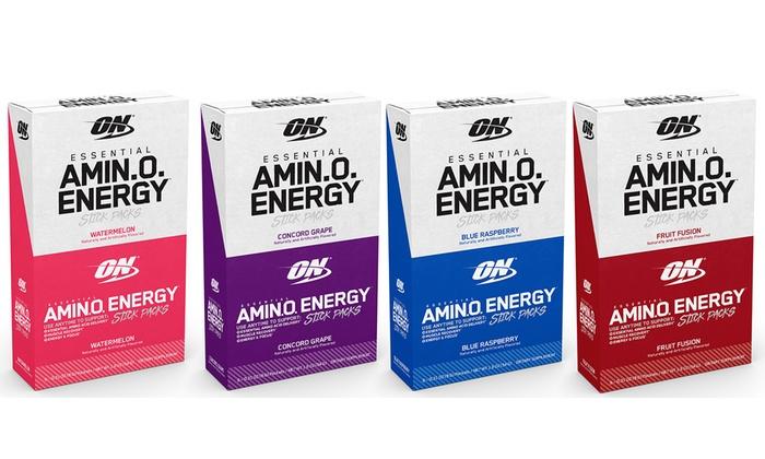 on amino energy stick packs 1 2 3 or 4 pack groupon. Black Bedroom Furniture Sets. Home Design Ideas