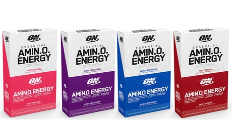 ON Amino Energy Stick Packs (1, 2, 3, or 4-Pack)
