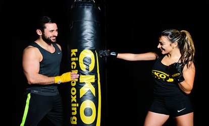 image for Three Classes or Two Weeks of <strong>Kickboxing</strong> Classes at CKO Hoboken Madison (Up to 81% Off)