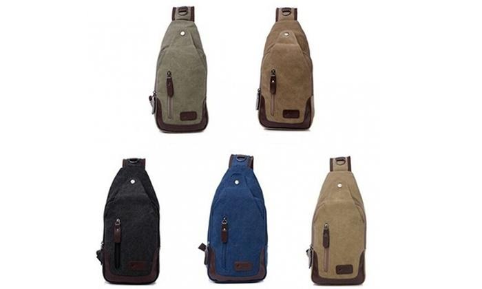 Canvas Shoulder Sling Bag