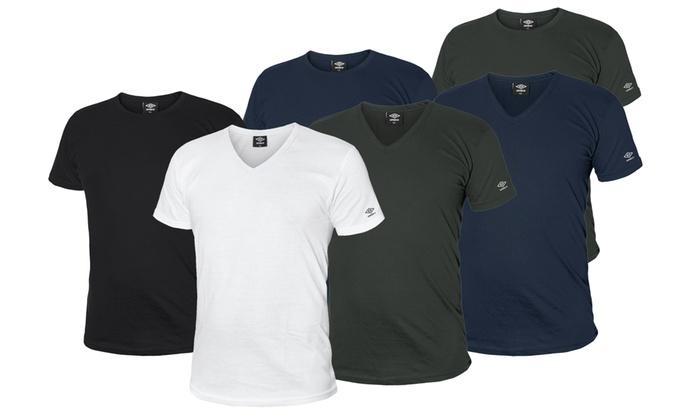 3 t-shirt da uomo Umbro