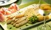 Menu asperges en 5 services (2 p.)