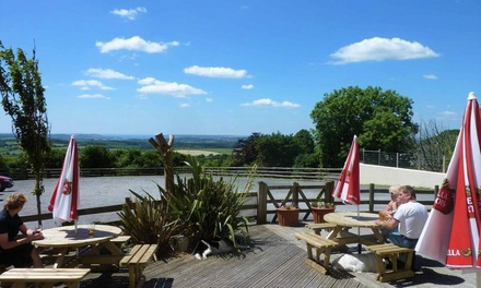 Dartmoor: 1 or 2 Nights For Two with Breakfast and Welcome Drink at The Moorland Hotel