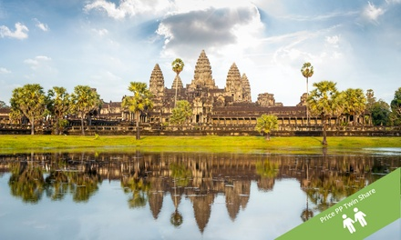 Vietnam and Cambodia: $1,249 Per Person for a 15-Day Tour with Accommodation and Cruise with Halong Tours Booking