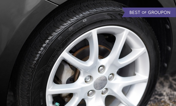 River City Brakes - River City Brakes: Brake Pads with Installation and Optional Tire Rotation at River City Brakes (Up to 66% Off)