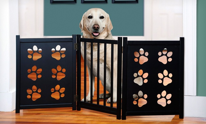 Adjustable Pet Gate: Adjustable Pet Gate (Up to 77% Off). Multiple Styles Available. Free Shipping and Returns.