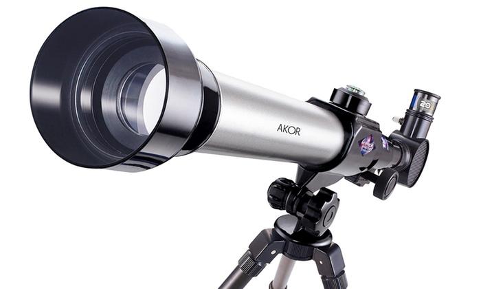 Teleskop kinder zoom mm refraktor einsteiger amazon