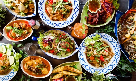 2Course Thai Meal + Drink: 2 $34, or 6 People $102 @ Surfers Paradise Thai Restaurant and Cafe Up to $212.40 Val