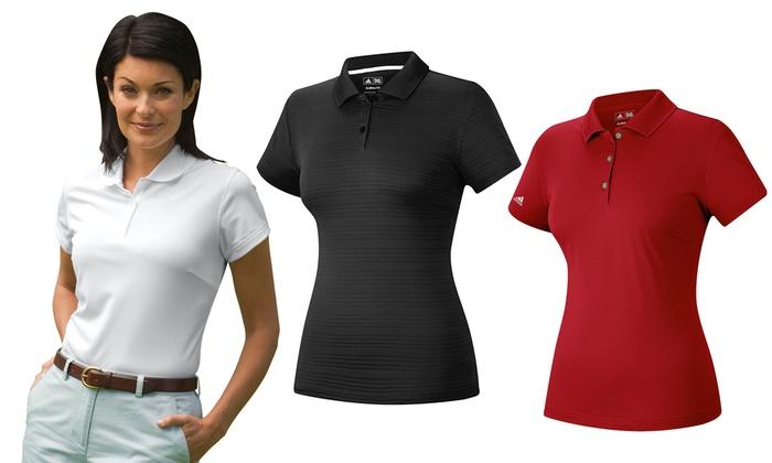 adidas women's polo shirts