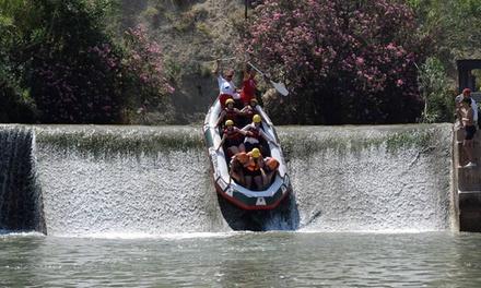 Descenso en rafting con pícnic y fotografías para 2 o 4 personas desde 29,99 € con Blanca Turiocio