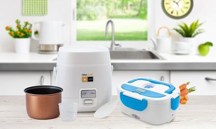 1, 2 o 3 packs de robot Joy, tartera eléctrica y reloj de cocina