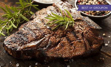 2AA Rosette Steak Meal with Glass of Prosecco for Two or Four at Holdsworth House Hotel & Restaurant (Up to 51% Off)
