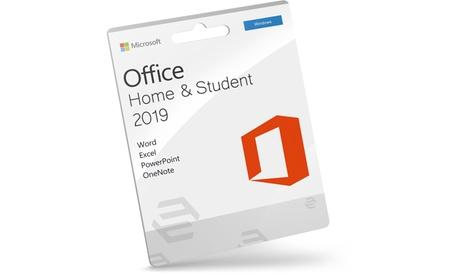 Microsoft Office 2019 Hogar y Estudiantes