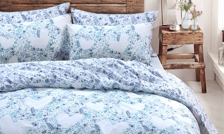 Pieridae Spring Reversible Duvet Sets in Choice of Size and Design