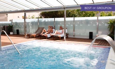 Spa y piscina para 2 con copa de cava y opción a cocktail, menú y masaje desde 24,95 € en Spa Hotel Nautic