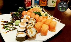 Restaurante Bem Brasil: Restaurante Bem Brasil - Vila Valqueire: combinado japonês com 22 peças de salmão ou 40 especiais