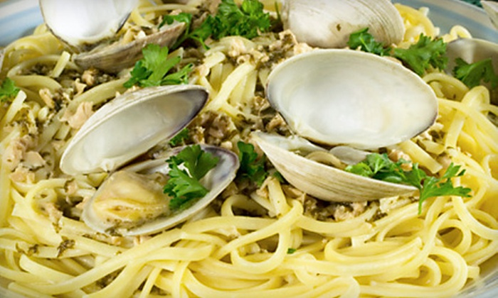 Casamari Restaurant - Burlington: $25 for an Italian Dinner for Two at Casamari Restaurant (Up to $55.96 Value)
