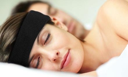 1 ou 2 bandeaux avec écouteurs intégré et anti bruit pour dormir