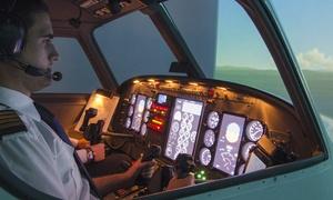 Becker's FlugsimulationsCenter: 90 Min. Flugsimulator für 1 Pers. od. 150 Min. Flugsimulator für 2 Pers. in Becker's FlugsimulationsCenter (20% sparen*)