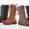 Groove Combat Boots