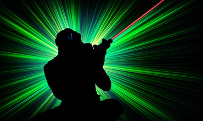 Alpha Strike Laser Tag - Dartmouth: Two Games of Laser Tag for Two or Four People at Alpha Strike Laser Tag (Half Off)