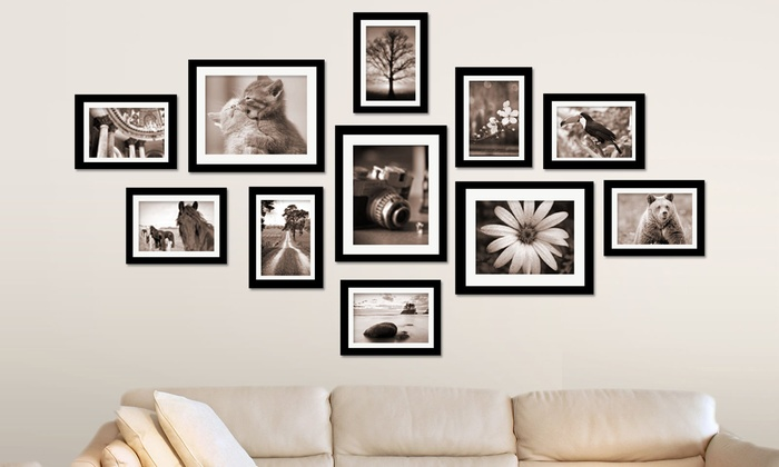 Wall Photo Frame Set | Groupon Goods