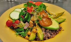 $25 For A Three-course Vegetarian Or Vegan Dinner For Two At Eden Alley