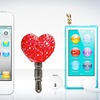 10-Pack of Plugezze Cell-Phone Topping Charms