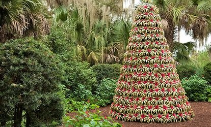 image for $28 for Gardens Admission and Pinewood Estate Holiday Home Tour for Two at Bok Tower Gardens ($48 Value)