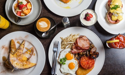 Breakfast with Juice for Two $19, Four $35 or Six People $53 at The Groove Train, Geelong Up to $121.20 Value