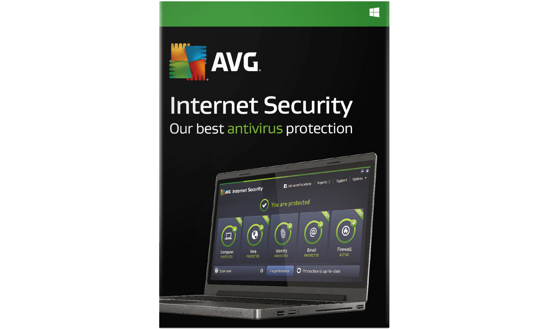 AVG Anti-Virus (AED 49) or Internet Security (AED 89) (Up to 82% Off)