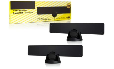 Amplified HDTV Antenna Indoor (2-Pack)