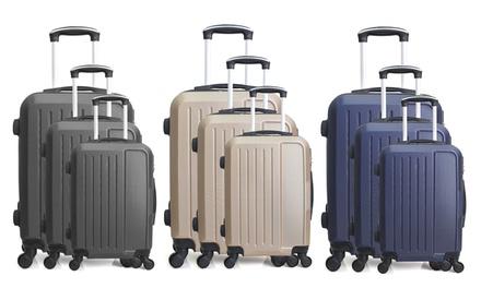 Set di 3 valigie Vesuvio Hero disponibile in vari colori