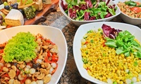 Breakfast, Lunch or Dinner Buffet with Soft Drinks or House Beverages at La Terrazza, Hilton Abu Dhabi (Up to 63% Off)