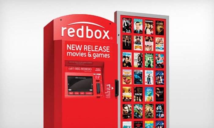Redbox - Downtown: 4 or 10 One-Day DVD Rentals from Redbox (Up to 67% Off)