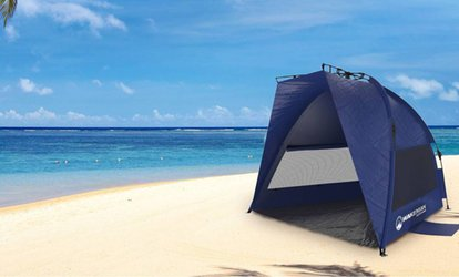 Groupon Pop Up Beach Tent With Uv Protection