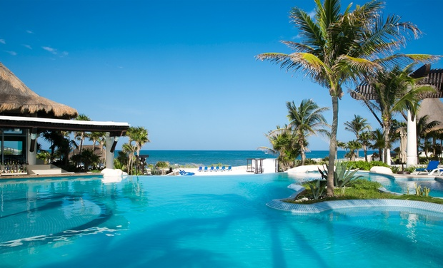 TripAlertz wants you to check out ✈ 4-, 6-, or 7-Night Kore Tulum Retreat & Spa Resort Stay w/ Air. Price per Person Based on Double Occupancy.   ✈ Kore Tulum Adults-Only Resort w/ Air from Vacation Express - All-Inclusive Mexico Stay