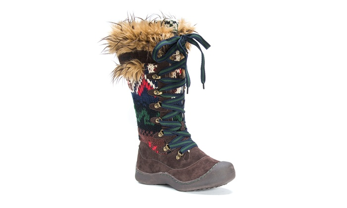 Muk Luks Gwen Women's Snow Boots (Sizes 6, 8, 11)