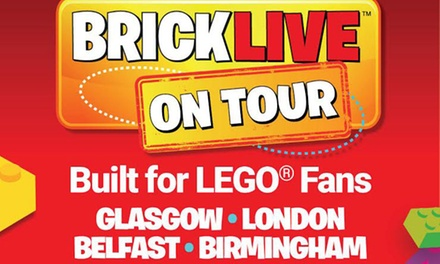 BRICKLIVE 2017, 20 July–29 October in Glasgow, London, Belfast or Birmingham (Up to 15% Off)