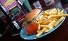 Blondies Diner - Bochum: Burger aus Bio-Rindfleisch oder Veggie mit Pommes und Dips für 2 bis 6 Personen im Blondies Diner (bis zu 43% sparen*)