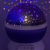 LED Concepts Moon and Star Projection Lamp