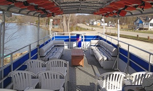 Chicago River Captain: $569 for a 2.5-Hour Boat Ride for Up to 21 People from Chicago River Captain ($925 Value)