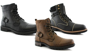 Polar Fox Fabian and Nicholas Men's Combat Boots