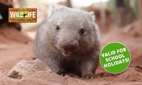 WILD LIFE Sydney Zoo Entry with Meal Package - Child ($25) or Adult ($35), Darling Harbour (Up to $57 Value)