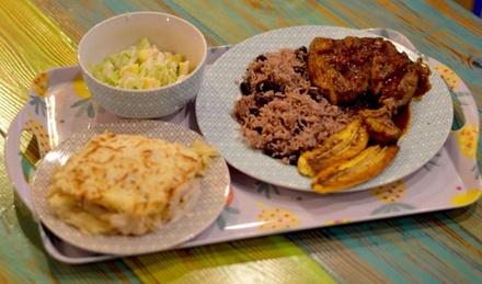 Menú para 2 o 4 personas con entrante, principal, postre o café y bebida desde 24,95 € en Miguel's Caribbean Cousine